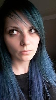 my hairstyle turkus blue