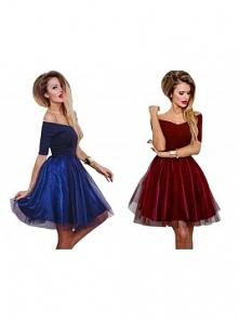Sukienka bez ramion