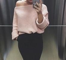 Ciepły sweterek w wersji el...