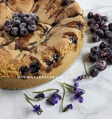 Ciasto z mąki jaglanej z ow...