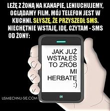 SMS od żony