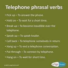 Zwroty związane z Telefonowaniem :)