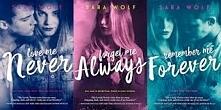 "SARA WOLF seria ""LOVELY VICIOUS"" ♥♥♥"