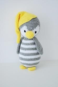 Pingwinek Pepe - w żółtej czapce
