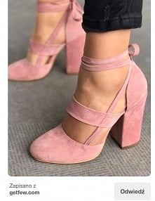 light pink low heels