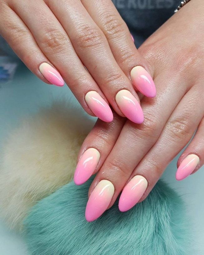 Ombre nails ♥
