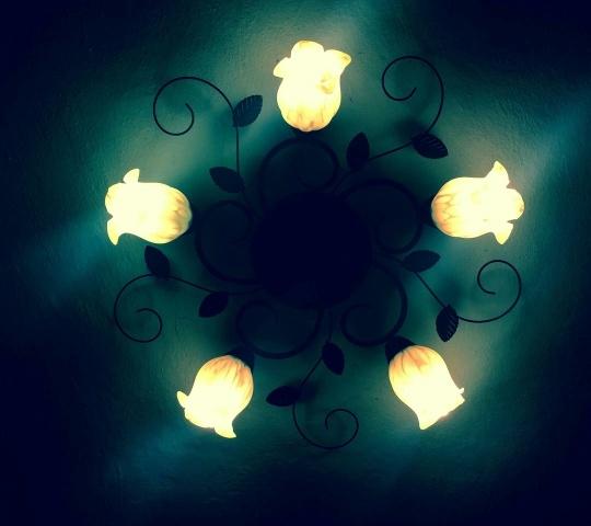 Niezła lampa na sufit