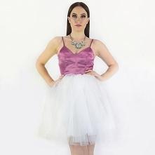 NOWOŚĆ ! RUBY - rozkloszowana sukienka tiulowa w cenie: 299,00 zł www. sopsi....