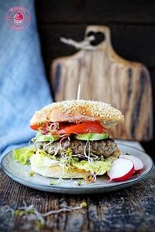 Bułki do hamburgerów - Wypieki Beaty