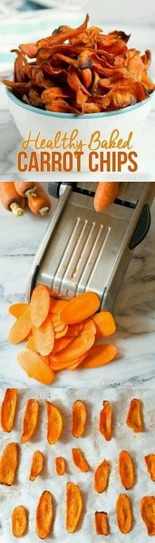 Chipsy z marchewki. Muszę w...