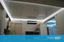 Jak Wam się podoba podświetlany sufit napinany w łazience? Taśmy LED są wytrz...
