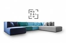 Narożnik NOXX Modalto Concept Prosta bryła, mnogość modułów i kombinacji oraz ponad 25 próbnik z szeroką paletą kolorystyczną tkanin pozwalają na stworzenie wielu kombinacji, gd...
