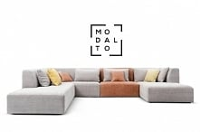 Narożnik NOXX Modalto Concept Prosta bryła, mnogość modułów i kombinacji oraz...