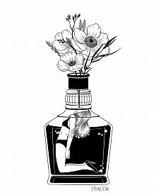 Kolejny kwiatowy motyw w sztuce henna :)