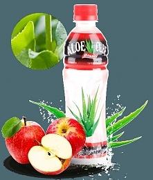 apple aloe cube drink