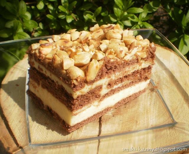 snickers -pyszne ciasto bez pieczenia