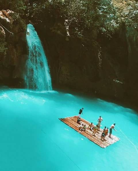 Wodospad Kawasan - Filipiny