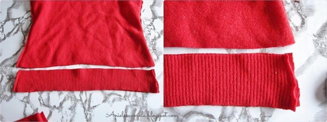 Jak skrócić sweter? Diy