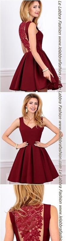 Le Labbra Fashion Kolekcja 2017 Model AURORA Urzekająca rozkloszowana sukienk...