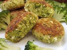 Kotlety brokułowo – jajeczne