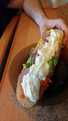 kebab domowy :)