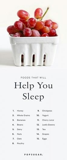 Pomogą ci zasnąć