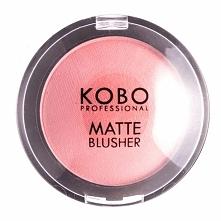 Róż do policzków Kobo kolor 203 MARSALA cena ok 15zł. Kolor intensywny, długo się utrzymuje, produkt wydajny - nie trzeba wiele nakładać, żeby był widoczny na twarzy ale ma bard...