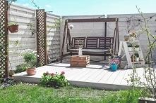 Zapraszam na metamorfozę małego ogródka w skandynawskim stylu :)