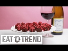 Red Wine Chocolate Truffles...