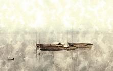 Projekt plakatu do wnętrz klasycznych, kolorowa akwarela