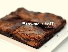 Brownie z toffi