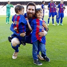 Mateo & Thiago with Dad...