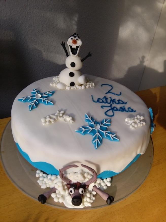 tort dla synka koleżanki. moje wykonanie...