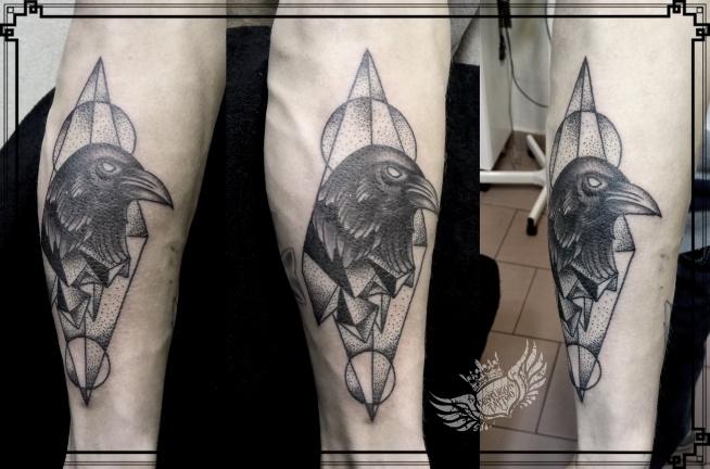 kruk geometric tattoo