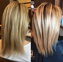 zmiana odcienia :) blondu