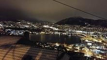 Norwegia nocą!  zdj. własnego autorstwa