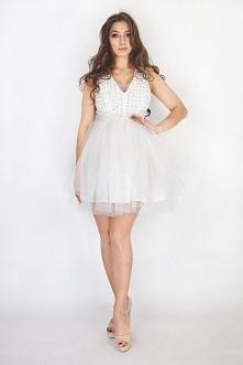 MUST HAVE! Rose- Biała sukienka tiulowa jest najczęściej wybierana przez Was ...