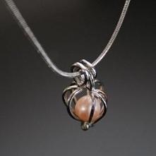 Pomarańczowa perła szczęścia - idealny prezent dla mamy, siostry, babci, żony...