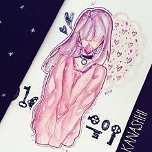 rysunek przedstawiający moją Rachel :3