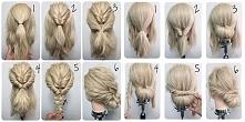 Krok po kroku jak zrobić niebanalną ale prostą w wykonaniu fryzurę :)