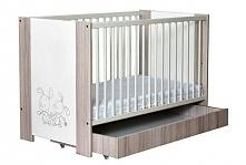 Łóżeczko dla dziecka z szufladą