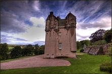 Zamek Craigievar w Szkocji