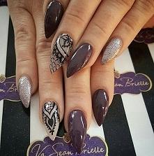 Zapraszamy na naszą stronę po więcej!! Poznaj modne inspiracje wzorów na paznokcie. Odwiedź nas na facebooku :) Skomentuj tą inspiracje, daj nam znać co lubisz!