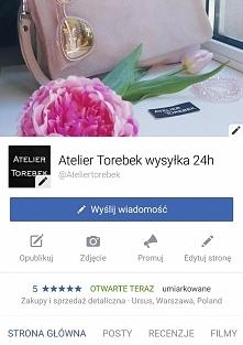 Atelier Torebek najlepszy sklep z torebkami damskimi Fb/ Atelier Torebek wysy...