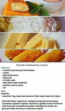 paluszki ziemniaczane z serem