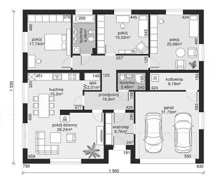 projekt domu #home