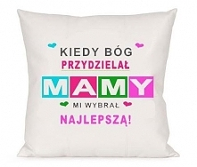 poduszka na dzień mamy do zamówienia na nadruko.pl