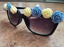 mała przeróbka okularów. chwilka pracy i okulary wyglądają zupełnie inaczej