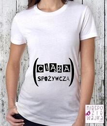 """Koszulka """"Ciąża spożywcza"""""""