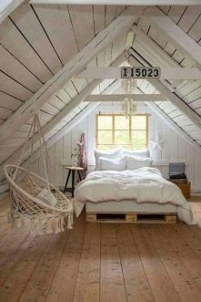 Sypialnia na poddaszu wedłu...